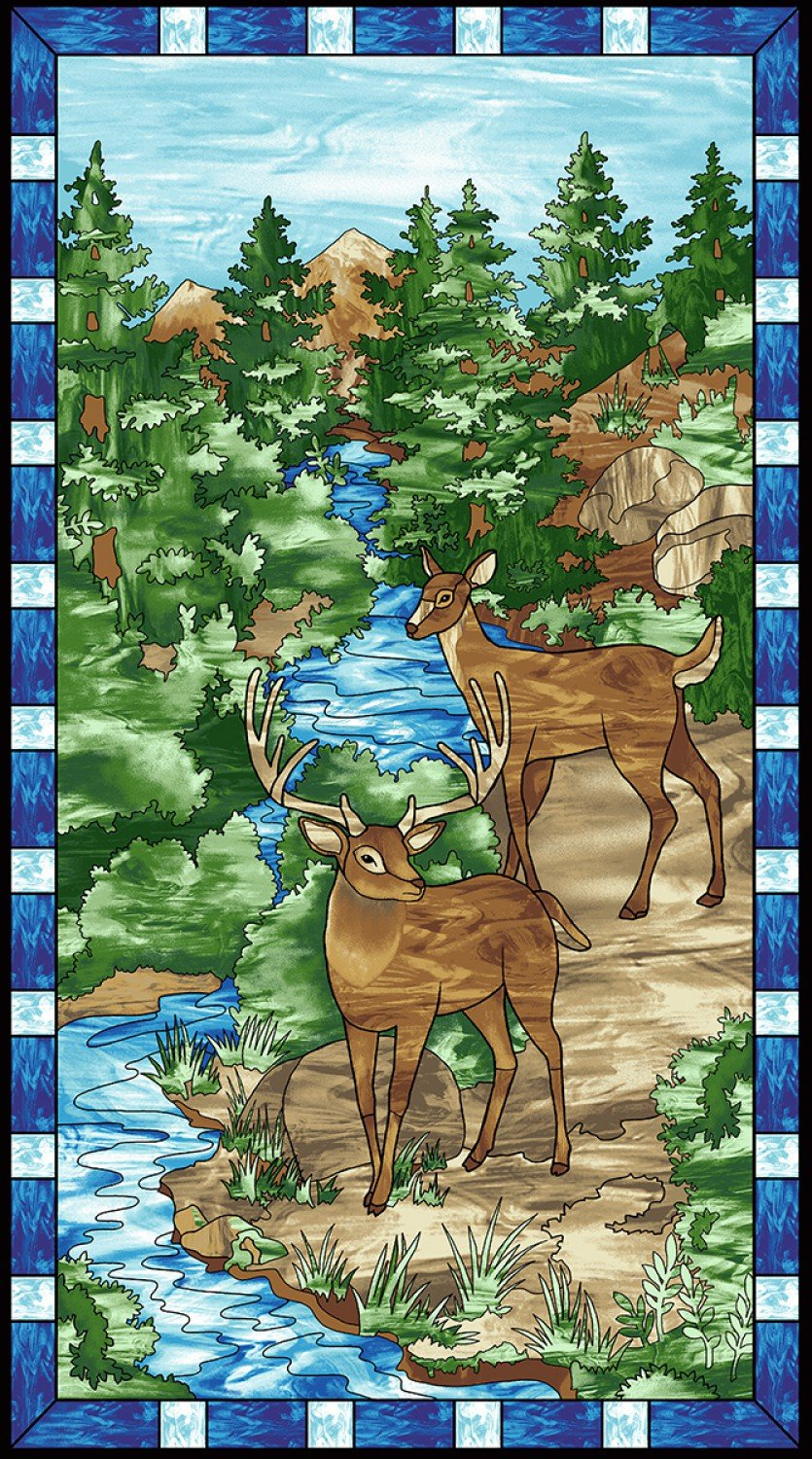 Mosiac Forest  Panel