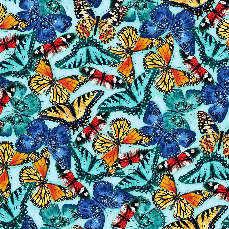 Butterfly Vortex, Large Blue