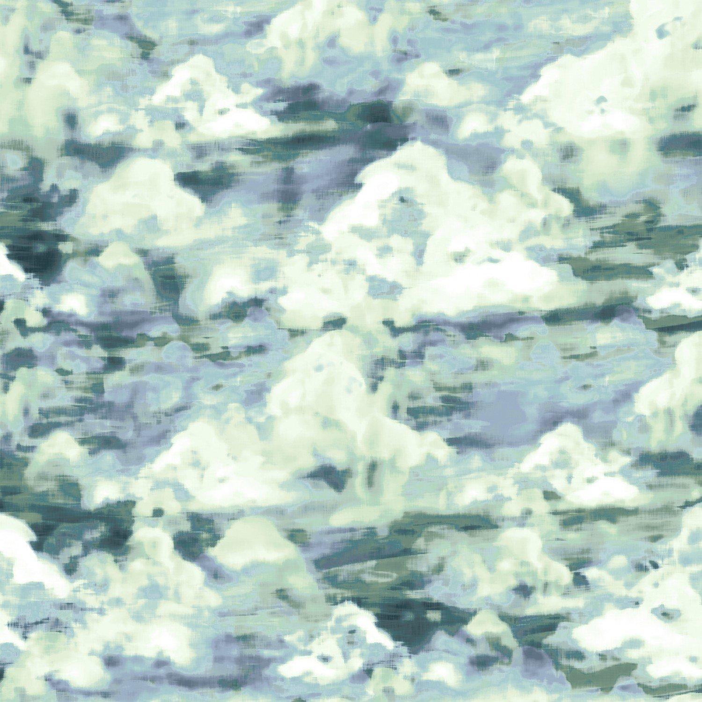 Woodland Wonder Cloudy -Blue green 4872S-76