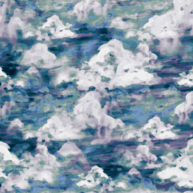 Woodland Wonder Cloudy -Blue 4872S-77