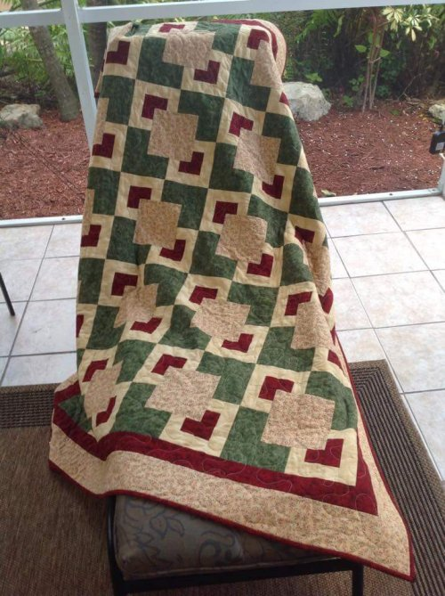 Stacked Stones Charity Quilt by Patty Crowley Savage