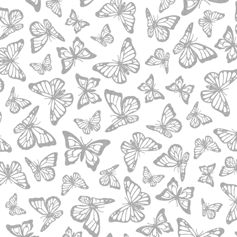 Precious Metals Silver Buterflies
