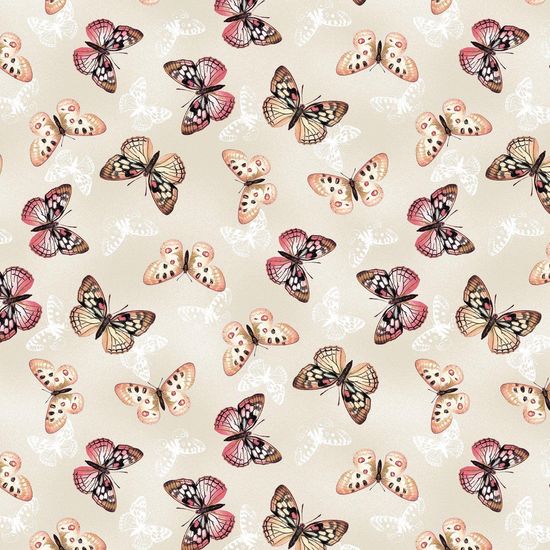 Tivoli Garden Cream Butterflies