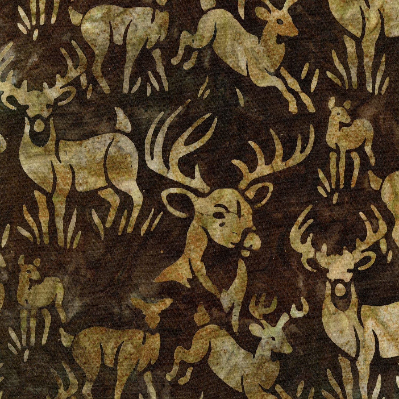 Batiks Wildlife Sancutary 4  Earth