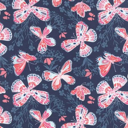 Aria Butterfly Navy
