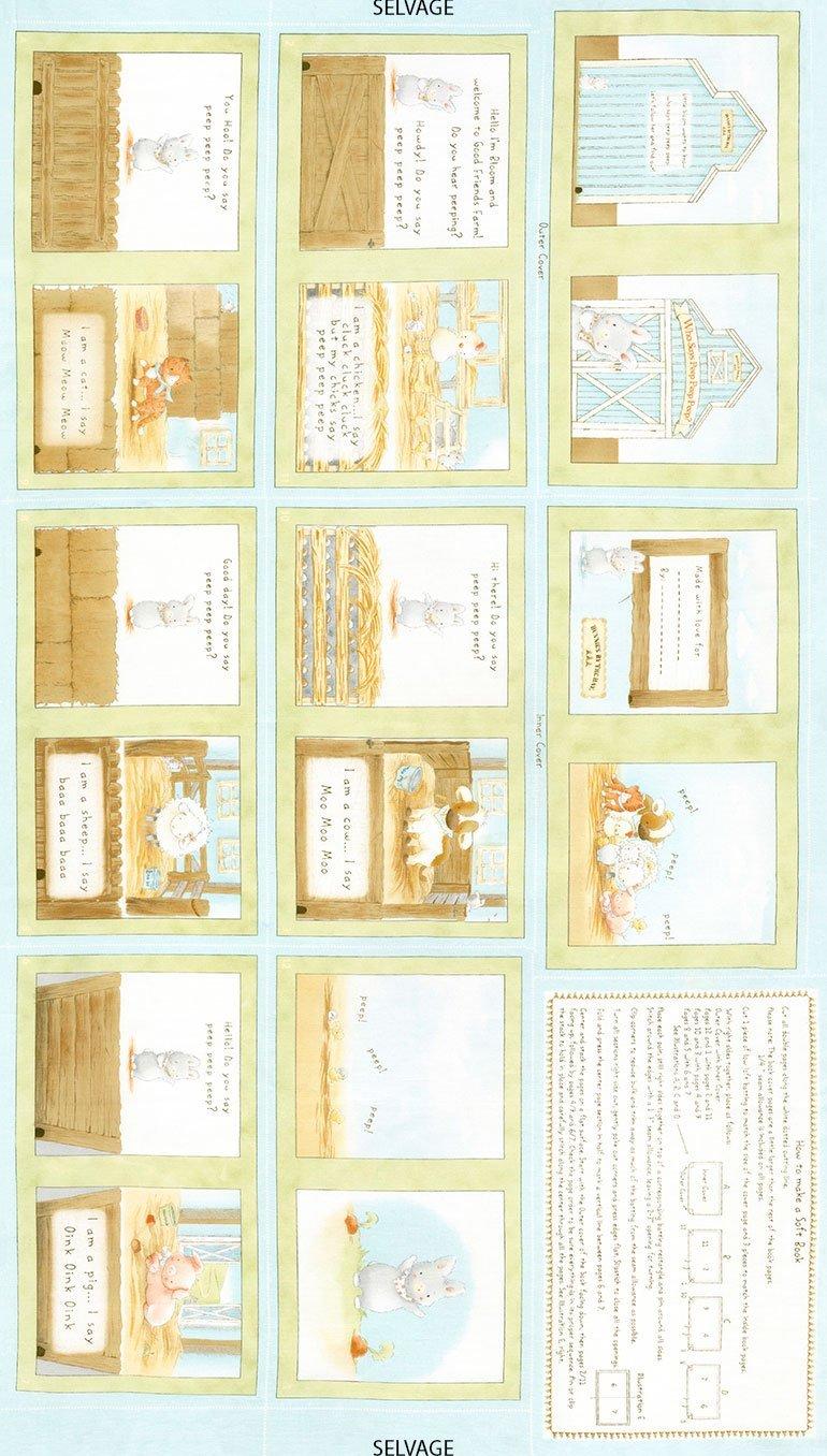 Cotton Tale Farm Book Panel