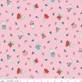 Milk, Sugar, Flower C4341-Pink