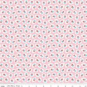 Milk, Sugar, Flower C4345 Pink