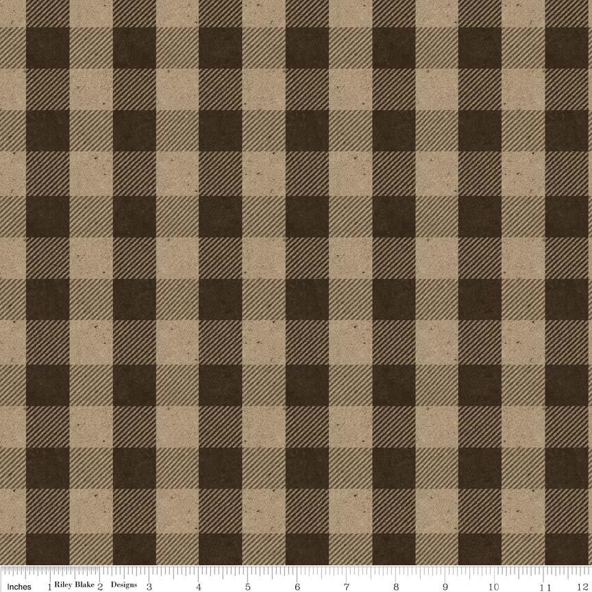 Menswear Fabric Brown