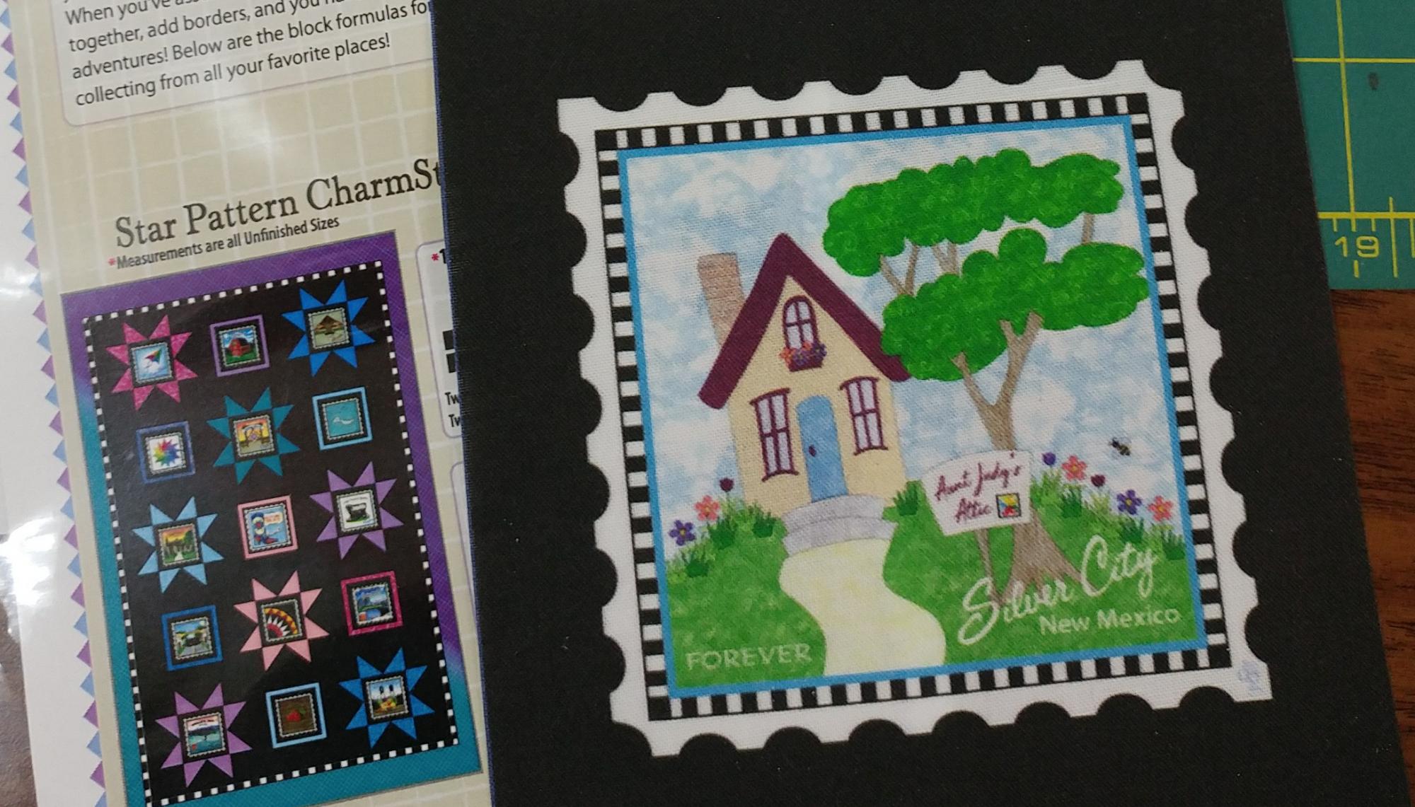 Charm Stamp Attic