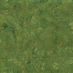Island Batiks Mini Leaf Shades of Green 121506208
