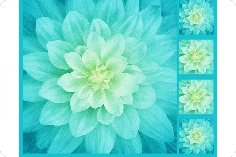 Digital Floral Cuddle Panel