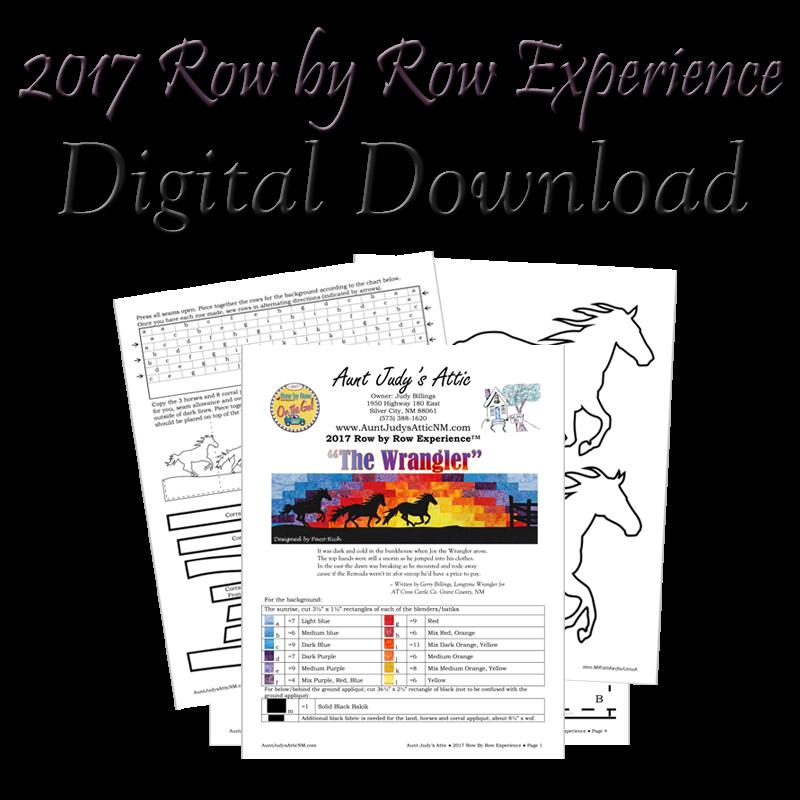 Row x Row 2017 Digital Download