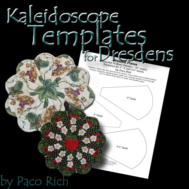 Kaleidoscope Templates for Dresdens