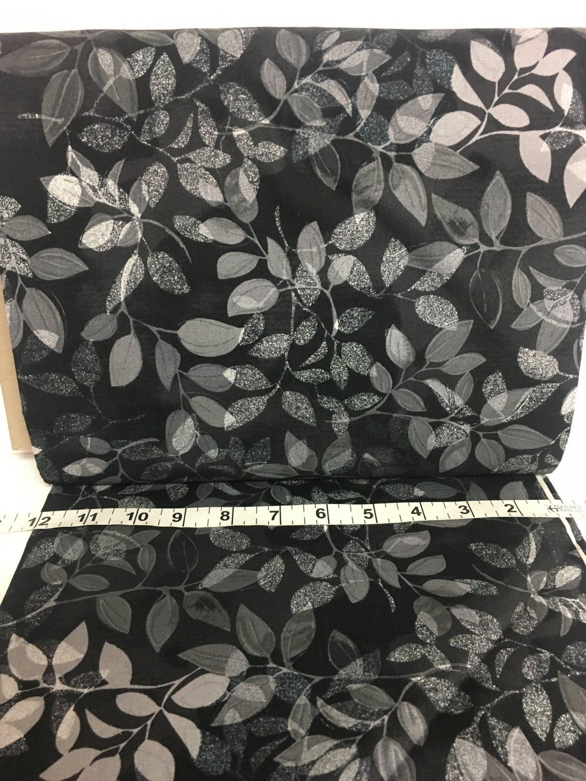 Tonal Leaves Gray