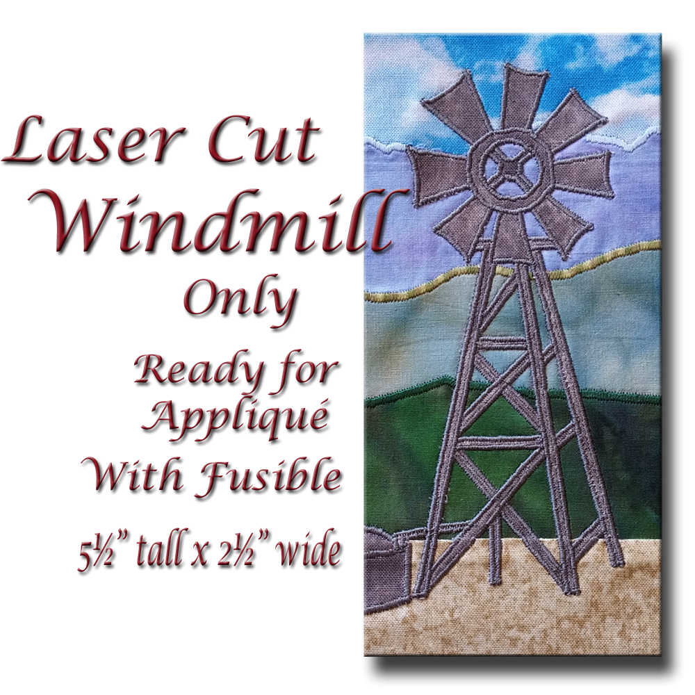 Laser Cut Windmills