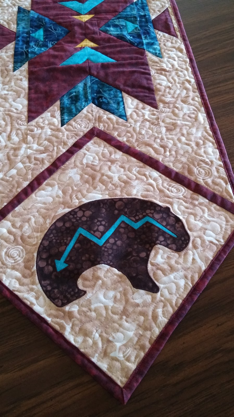 Bear Applique Digital Download
