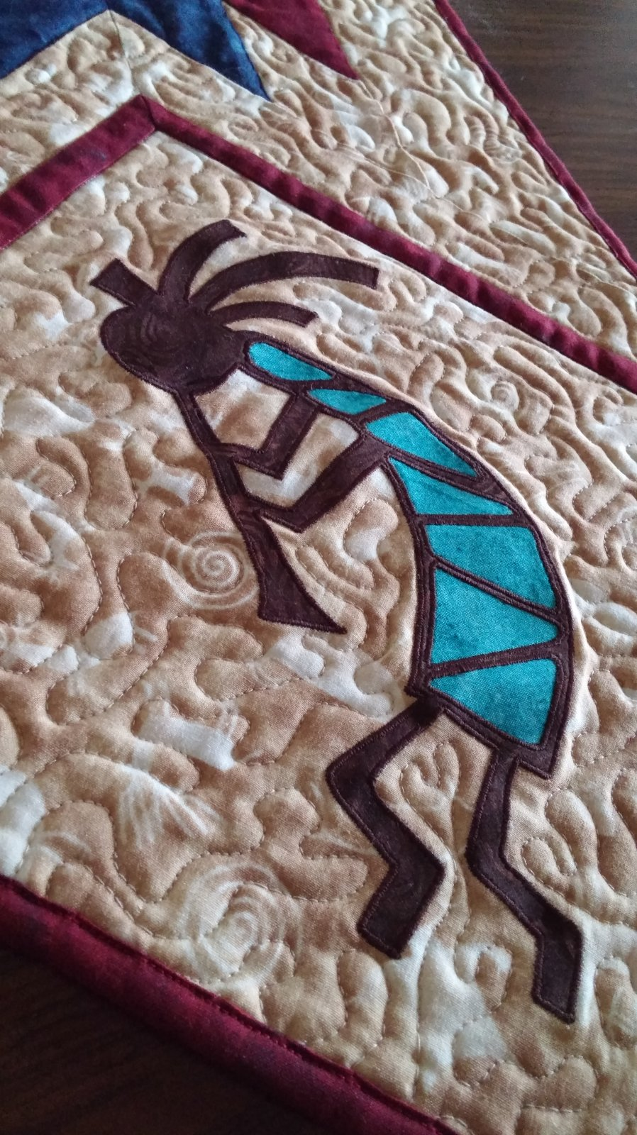Kokopelli Applique Digital Download