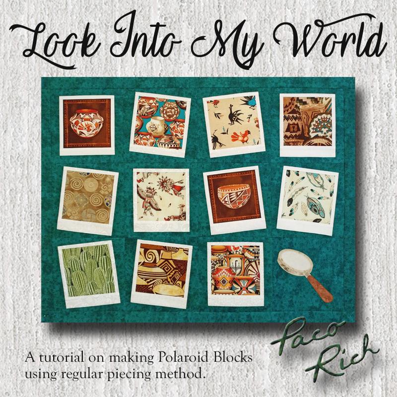 Look Into My World Polaroid Block Tutorial