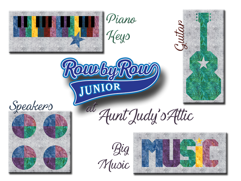 Row by Row Junior at Aunt Judy's Attic