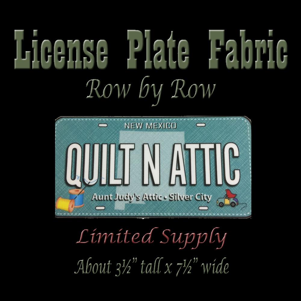 Row x Row Fabric-Plate