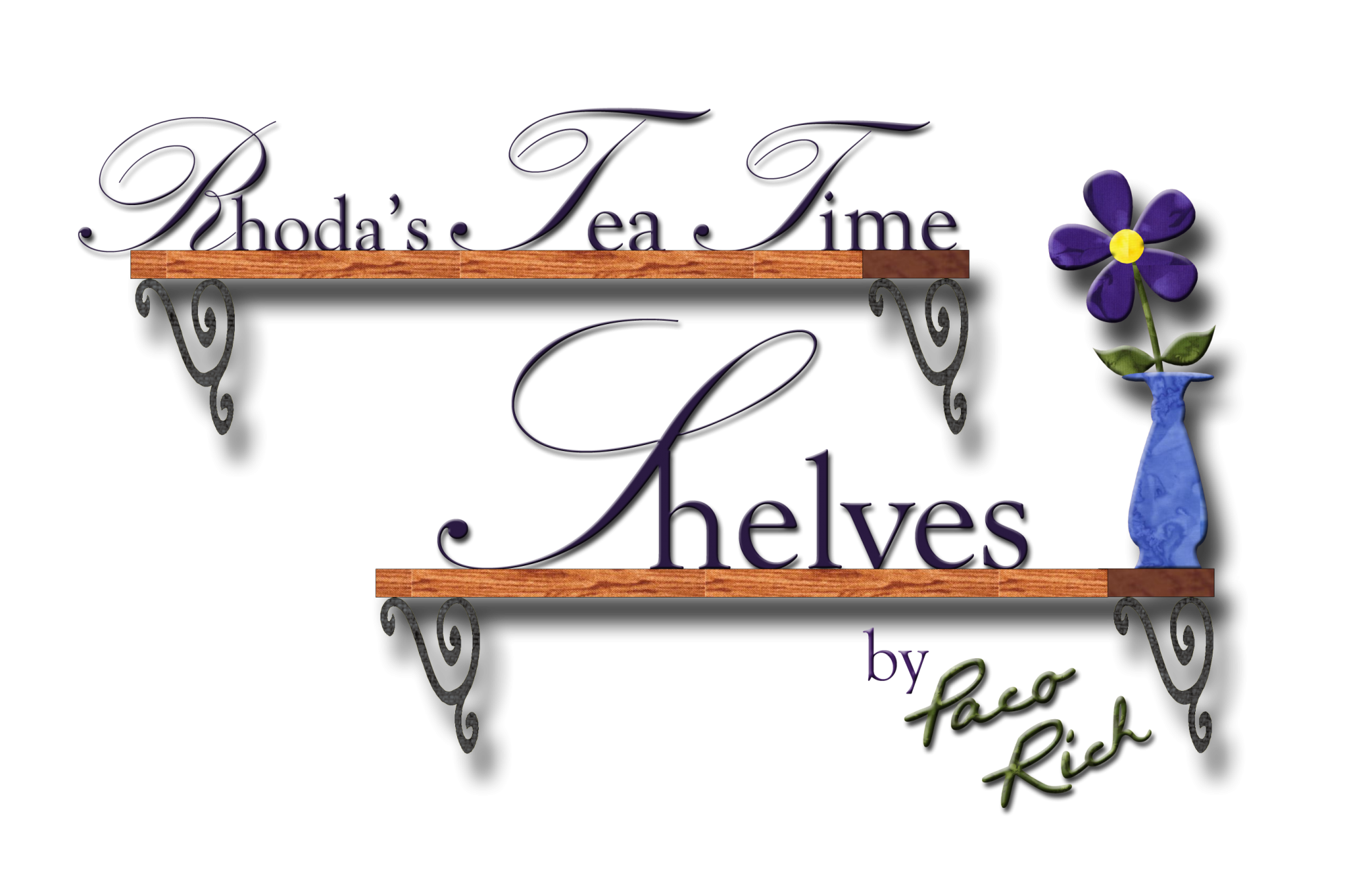 Rhoda's Tea Time Shelves Templates