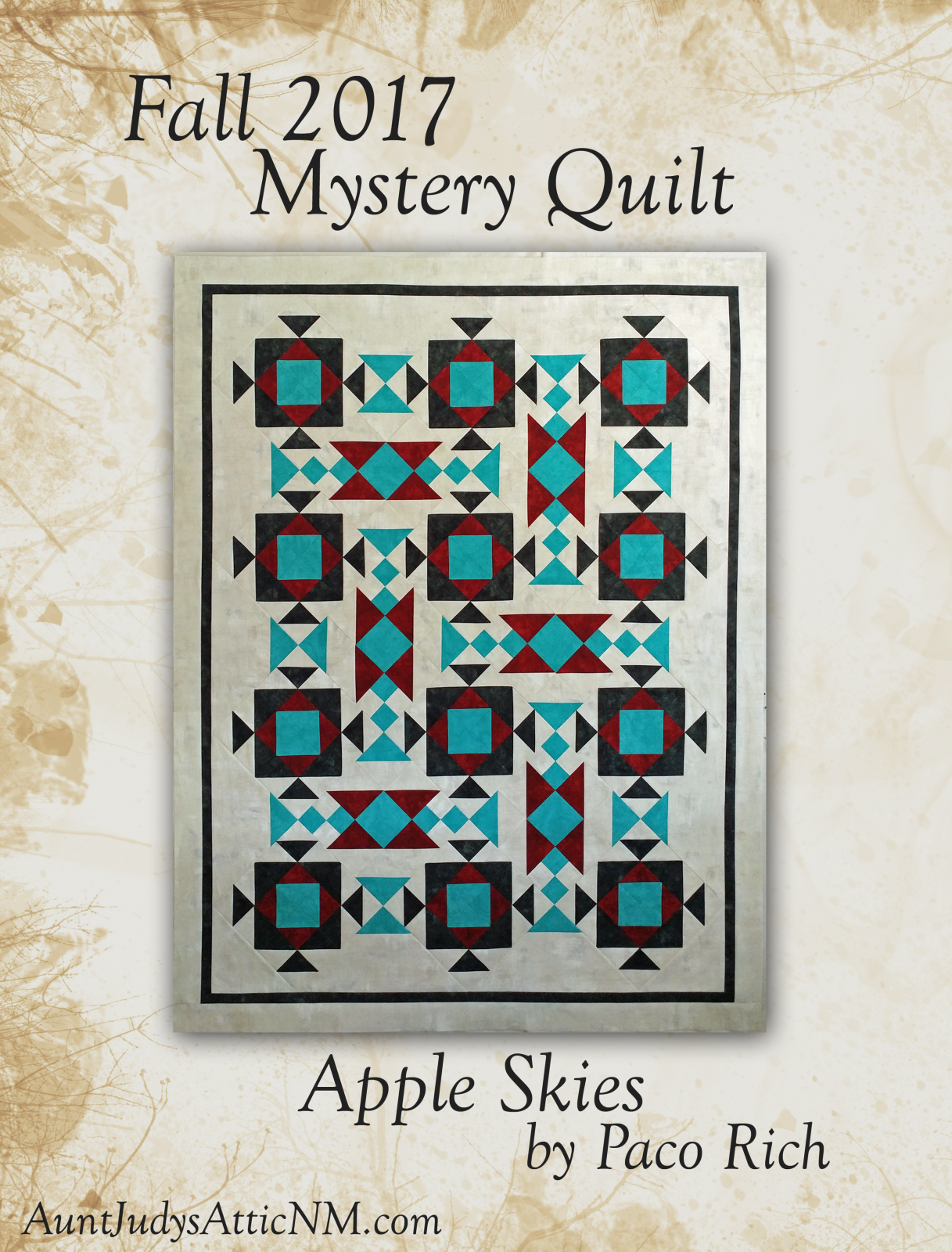 Apple Skies Mystery Quilt by Paco Rich
