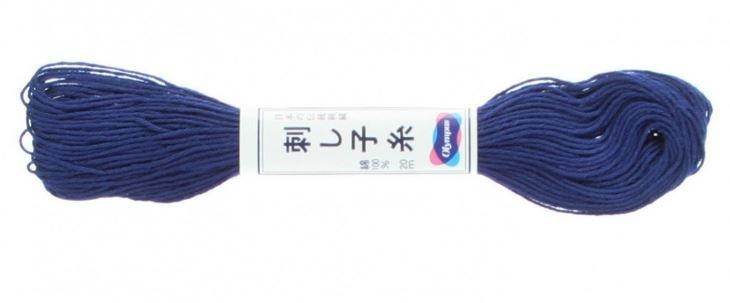 Olympus Sashiko Thread Cobalt Blue #18 20m