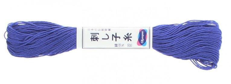 Olympus Sashiko Thread Bright Blue #23 20m