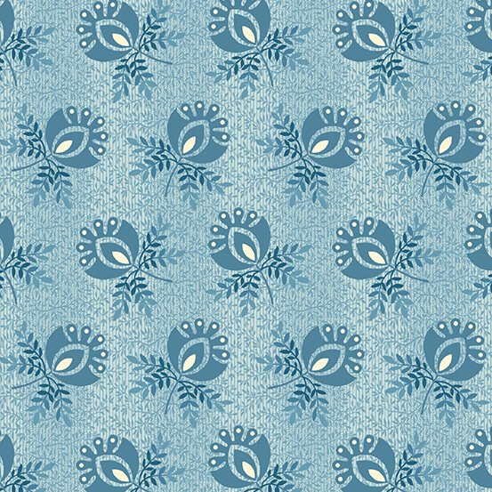 Perfect Union 9579-B - Boutonniere - Blue Frost