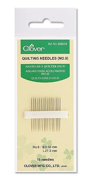 Clover Quilting Needles Size10 #468/10