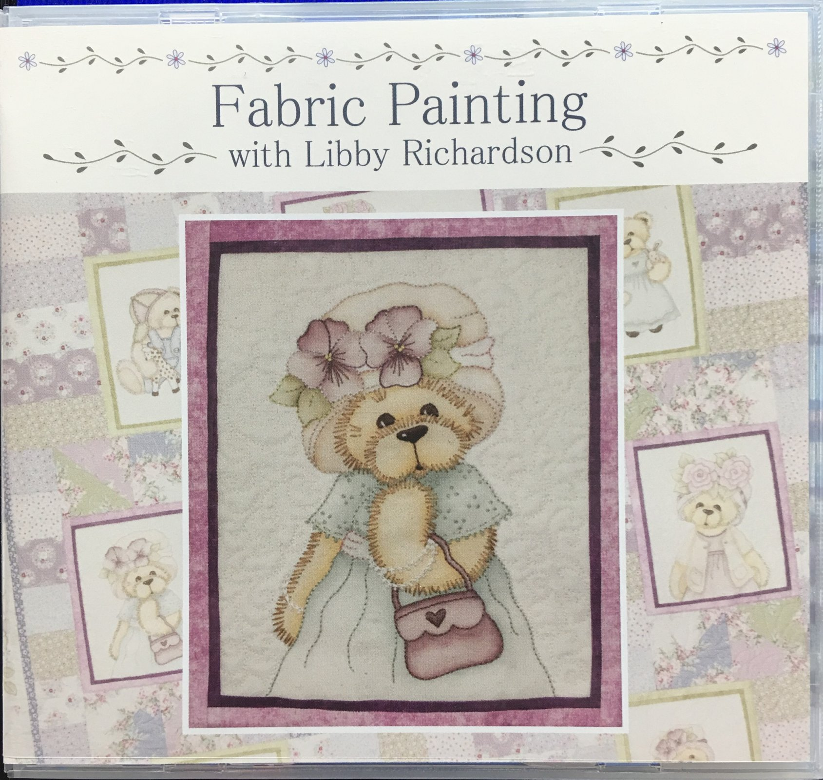 Fabric Painting DVD with Libby Richardson