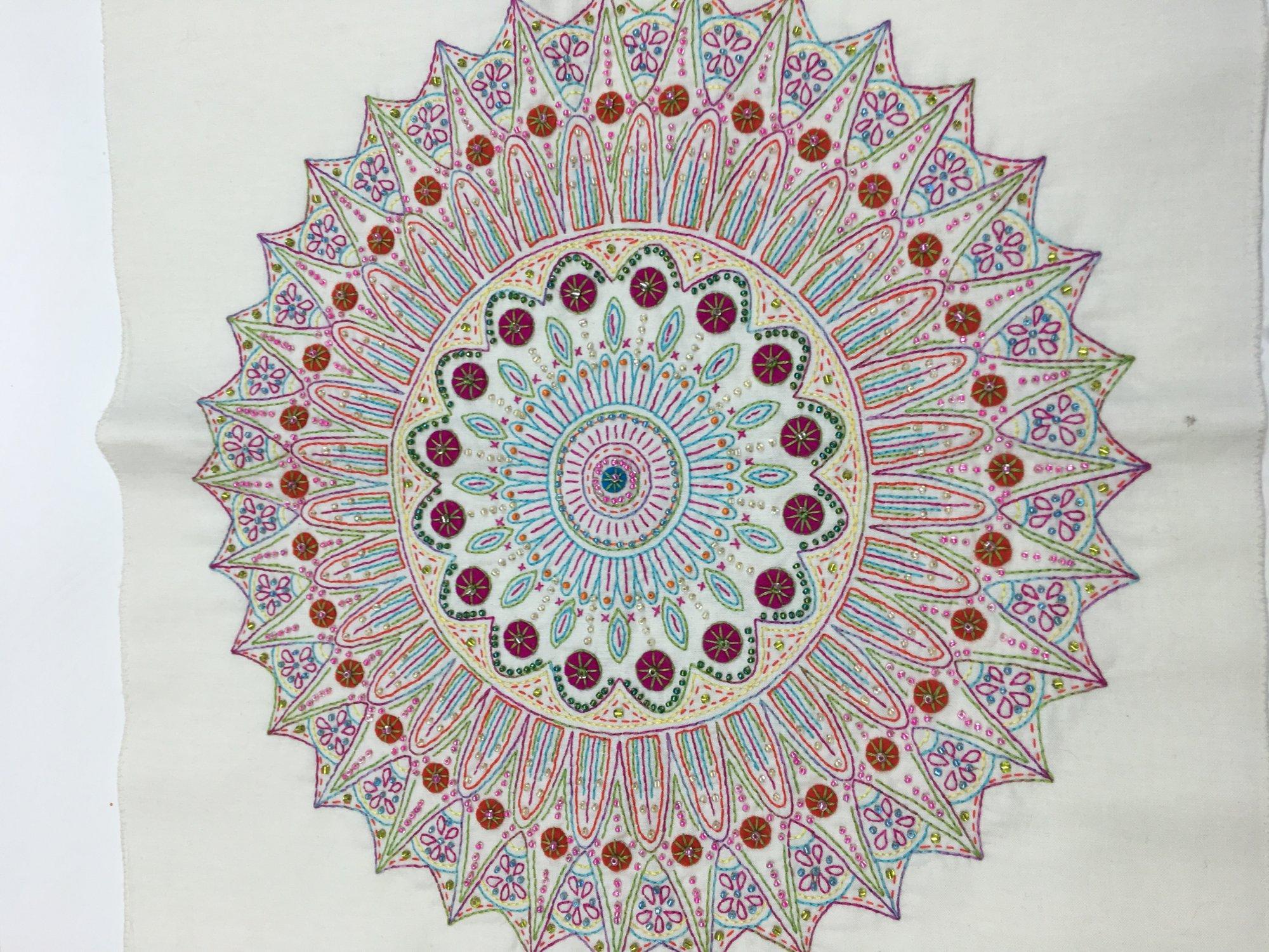 Mystery Stitched Mandalas