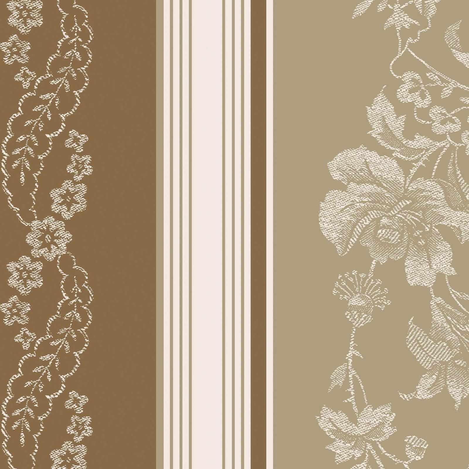 Ruby - Jacquard Texture Stripe - Tan/Brown