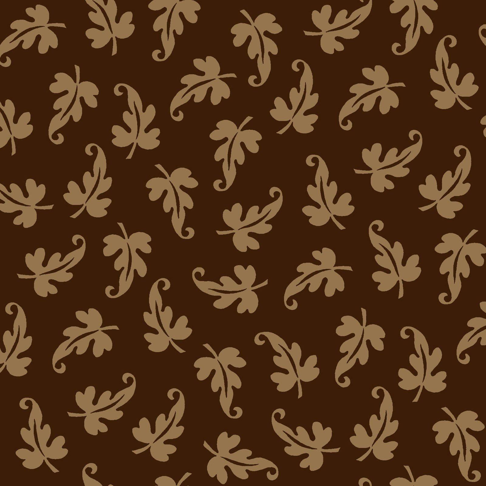 Ruby - Scroll Leaf - Espresso