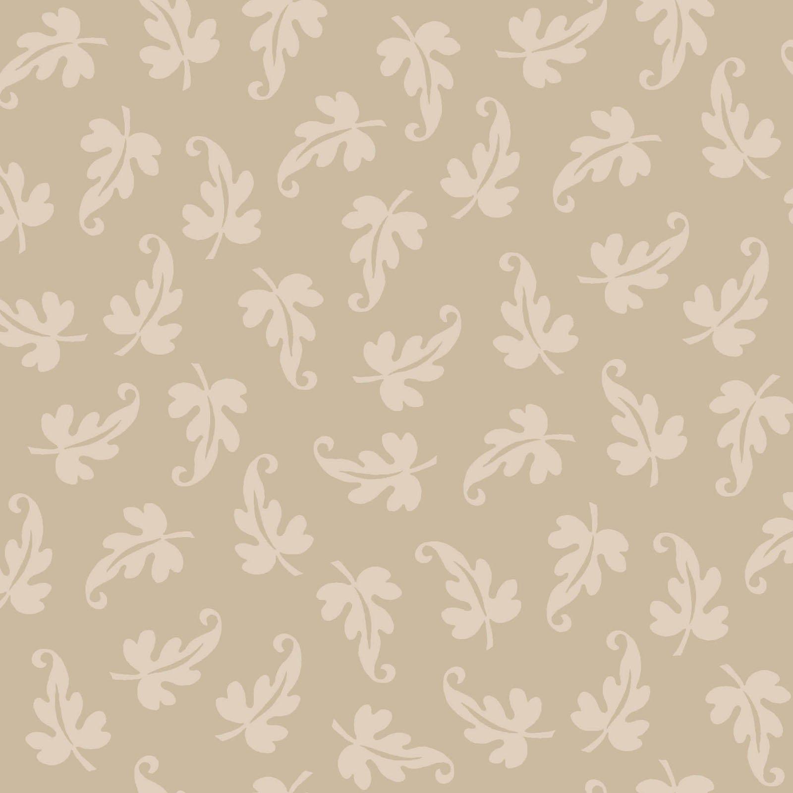 Ruby - Scroll Leaf - Tan