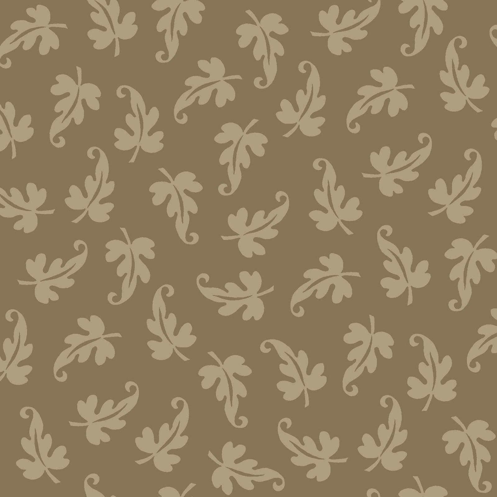 Ruby - Scroll Leaf - Dark Tan