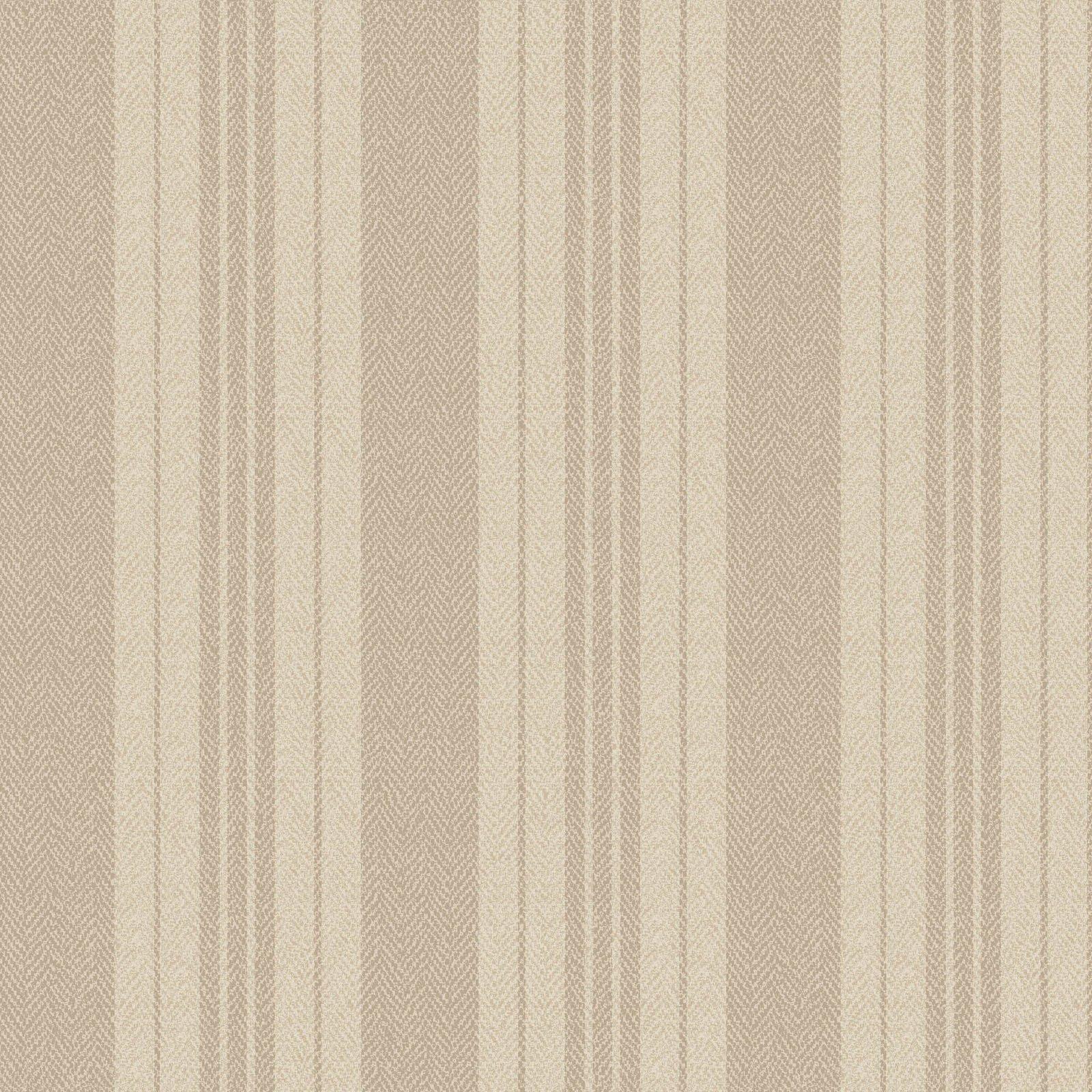Ruby - Ticking Stripe - Ecru