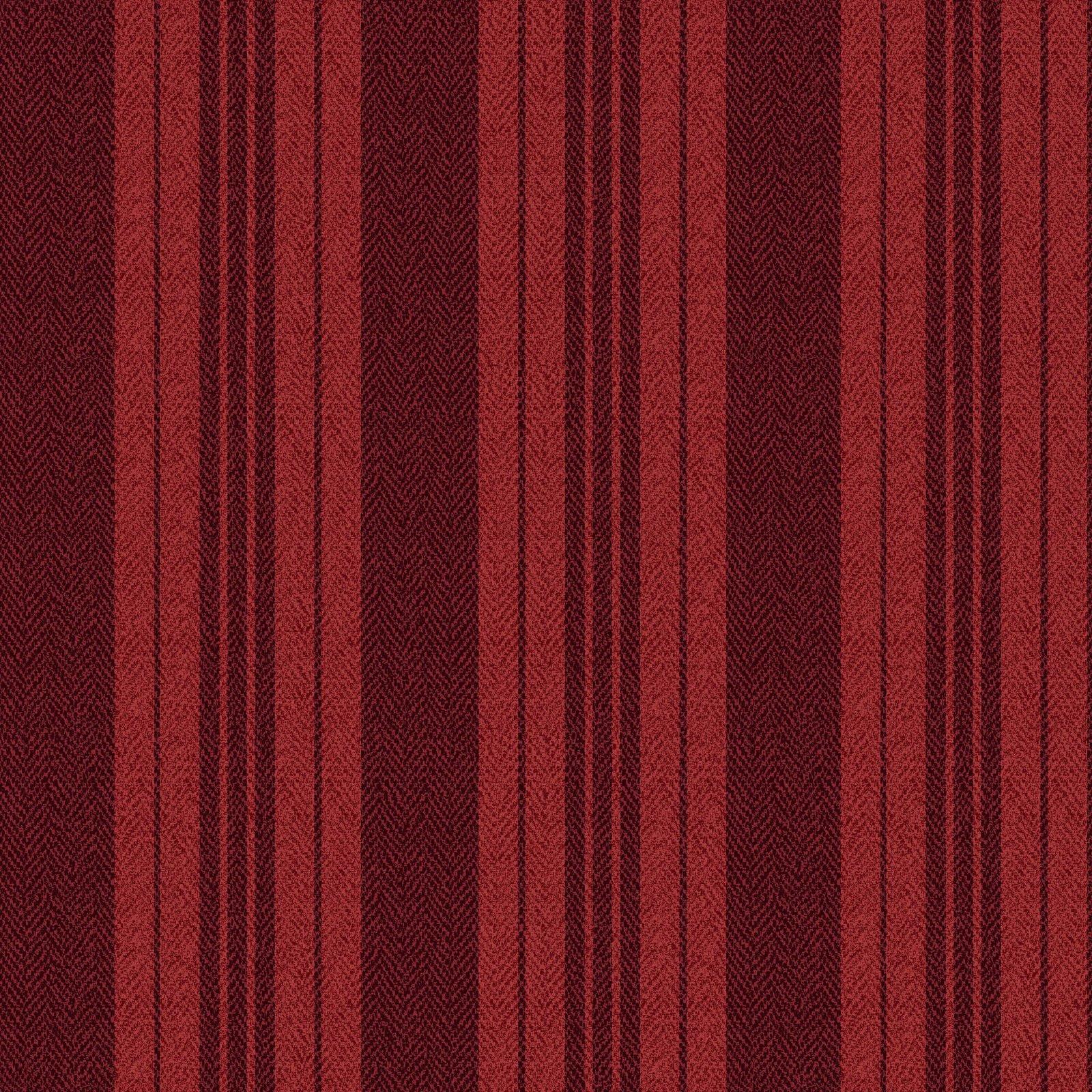 Ruby - Ticking Stripe - Red
