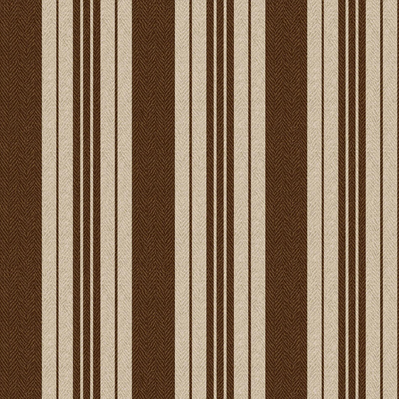 Ruby - Ticking Stripe - Tan/Brown