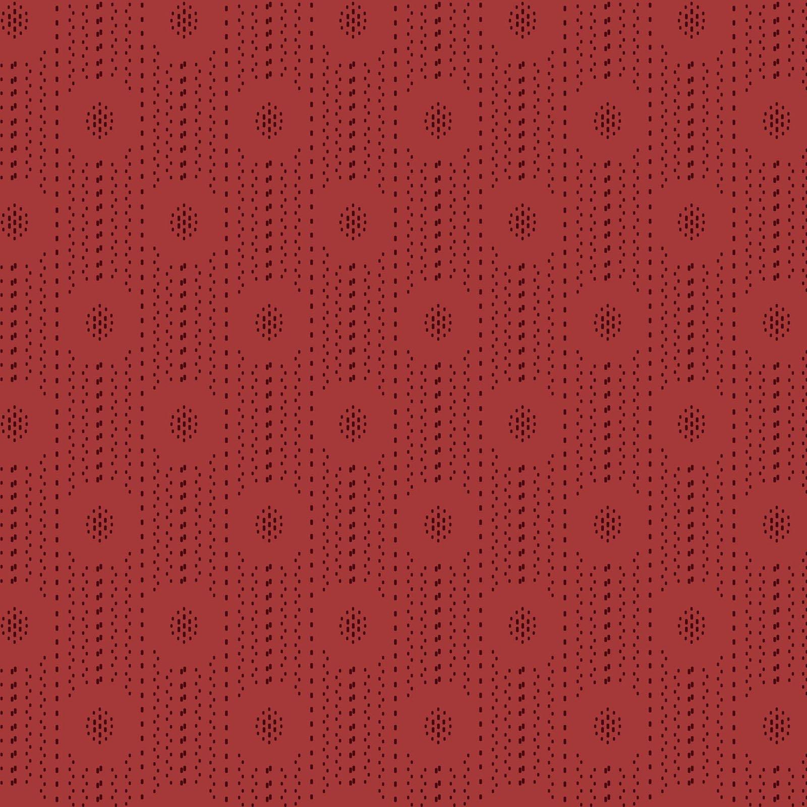 Ruby - Shirting Stripe - Red