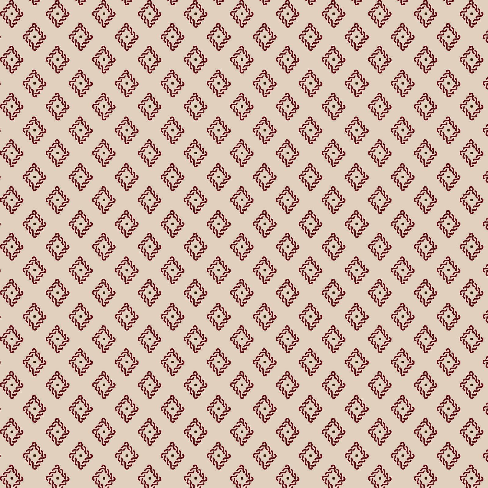 Ruby - Foulard - Tan /Red