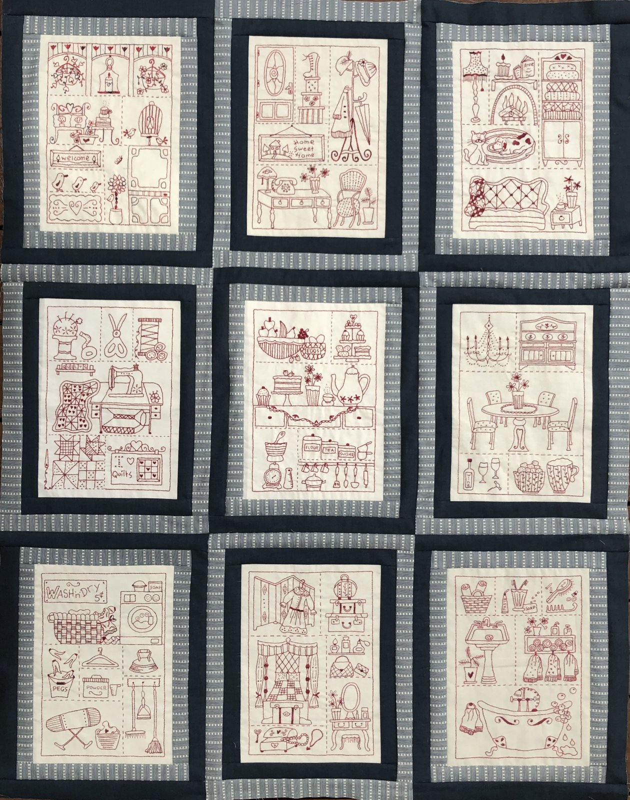 My Home - Complete Pattern Set