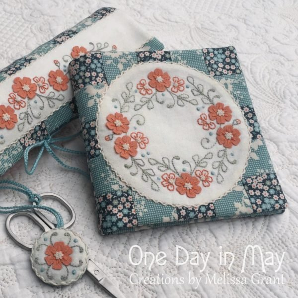 Petite Blooms - Needlebook and Needlework Roll