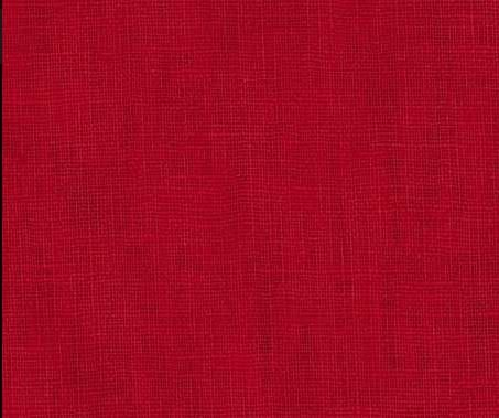 Purity Hanky Linen - Red Earth