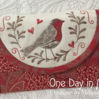 Red Robin - Pouch and Jewellery Keep