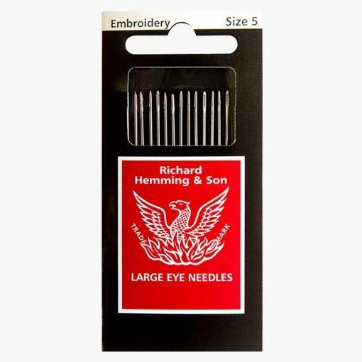Richard Hemming Embroidery / Crewel Needle Size 5