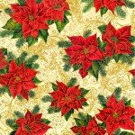 Sale - Holiday Edition All Over Poinsettias