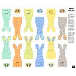 Sew & Go II Bunny Bowling Panel