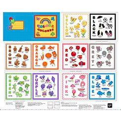 Sew & Go II Colors Fabric Book